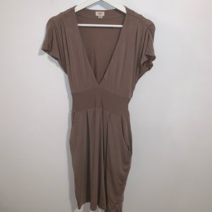 Wilfred S Lyocell Spandex Dress with Pockets
